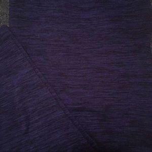 Pants - Purple Heathered Yoga Pants